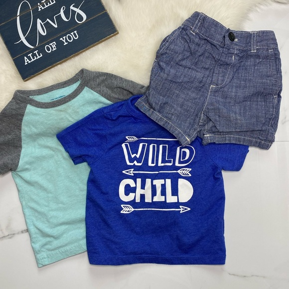 🎉Bundle the children's place baby tees shortB7-37
